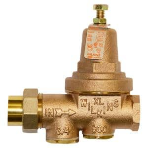 1 in. 600XL Pressure Reducing Valve with a Spring Range from 75 psi to 125 psi, Factory Set at 85 psi