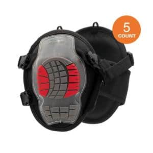 Gel Soft Cap Construction Knee Pad (5-Pair)