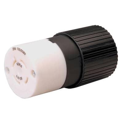 Twist Lock 20-Amp 125/250-Volt Connector