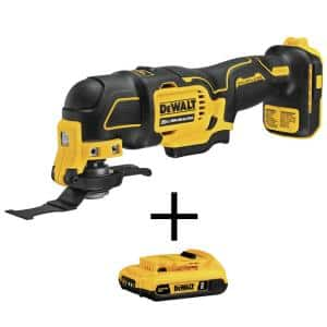 ATOMIC 20-Volt MAX Cordless Brushless Oscillating Multi-Tool with (1) 20-Volt Battery 2.0Ah