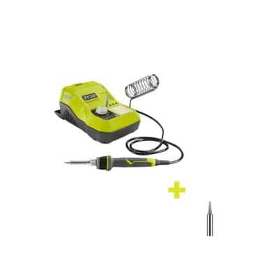 18-Volt ONE+ Hybrid Soldering Station (Tool-Only) with extra Fine Point Soldering Tip