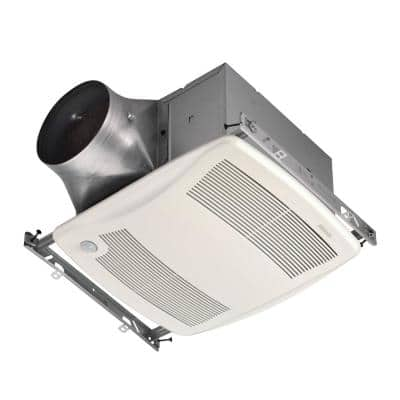 ULTRA GREEN ZB Series 80 CFM Multi-Speed Ceiling Bathroom Exhaust Fan with Motion Sensing, ENERGY STAR*