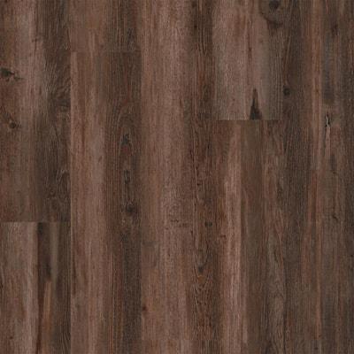 Performa Carob 7 in. W x 48 in. Glue Down Luxury Vinyl Plank Flooring (41.99 sq. ft./case)
