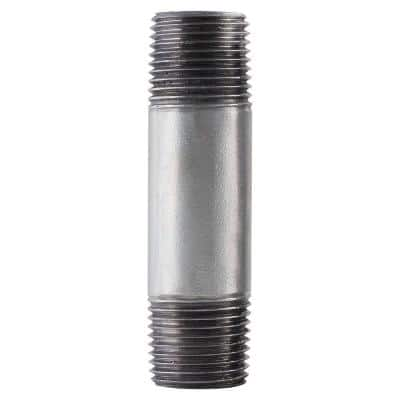 1/4 in. x 6 in. Galvanized Steel Pipe Nipple