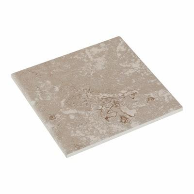 Sandalo Castillian Gray 6 in. x 6 in. Glazed Ceramic Wall Tile (12.5 sq. ft. / case)