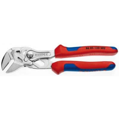 6 in. Pliers Wrench with Comfort Grip Handles