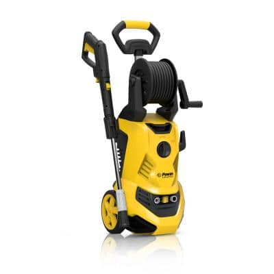 2700 PSI 1.8 GPM Yellow Cold Water Capability Electric Pressure Washer
