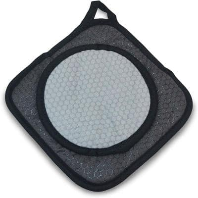 Black Grab and Grip Pot Holder/Trivet