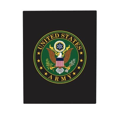 11 in. x 14 in. U.S. Army Metal Sign