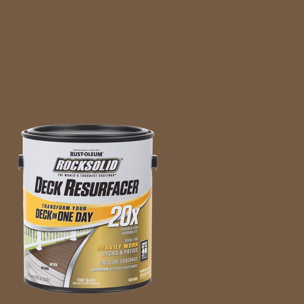 1 Gal. Chocolate Exterior 20X Deck Resurfacer