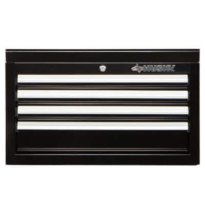 26 in. W 4-Drawer Tool Chest in Gloss Black
