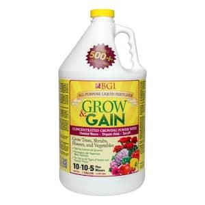 Grow and Gain 128 oz. All Purpose Liquid Plant Food