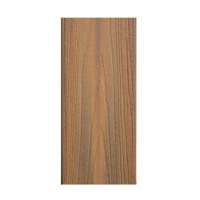Horizon 1 in. x 6 in. x 20 ft. Ipe Square Edge Capped Composite Deck Board
