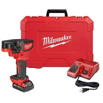 M18 18-Volt Lithium-Ion Cordless Brushless Threaded Rod Cutter Kit with 2.0 Ah Battery, Charger and Case