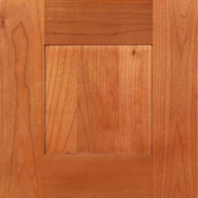 Hargrove 12 3/4 x 12 3/4 in. Cabinet Door Sample in Cinnamon