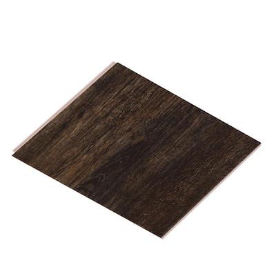 Take Home Sample - Vinyl Pro Classic Shadowed Oak Vinyl Plank - 7-1/8 in. W x 6 in. L