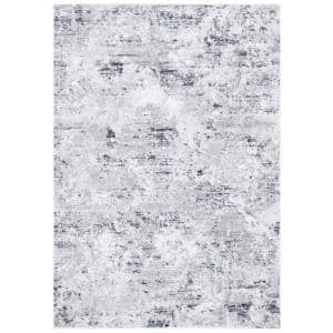 Amelia Gray/Ivory 8 ft. x 10 ft. Abstract Area Rug