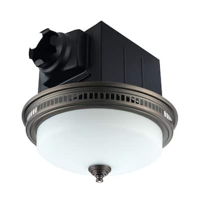 Ultra Quiet Bathroom Exhaust Fan 110 CFM with Light and Nightlight -3000K
