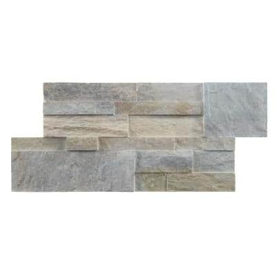 7 in. x 14 in. Golden Honey Stacked Stone Manufactured Siding (8 sq. ft./Case)