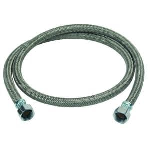 1/2 in. FIP x 1/2 in. FIP x 48 in. Braided Polymer Dishwasher Connector