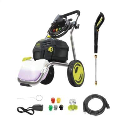3200 PSI Max 1.3 GPM 14.9 Amp High Performance Brushless Induction Motor Electric Pressure Washer