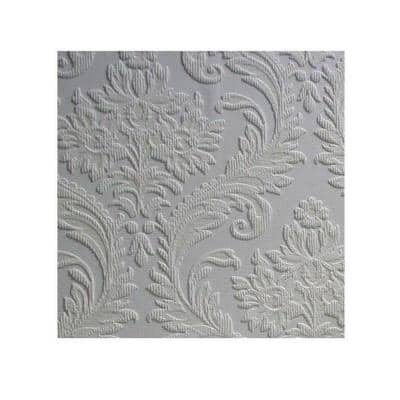 High Trad Paintable Textured Vinyl Non-Pasted Wallpaper Roll (Covers 57.5 Sq. Ft.)