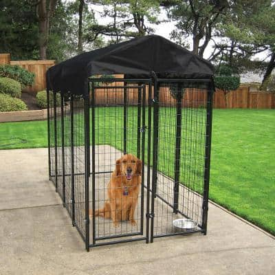 6 ft. H x 4 ft. W x 8 ft. L Uptown Kennel with Cover