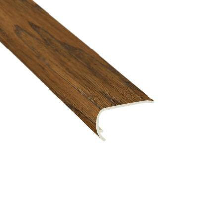 Western Hickory Espresso 3/8 in. T x 2-3/4 in. W x 78 in. L Stair Nose Molding
