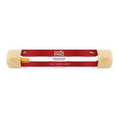 18 in. x 1-1/4 in. Pro American Contractor High-Density Knit Fabric Roller