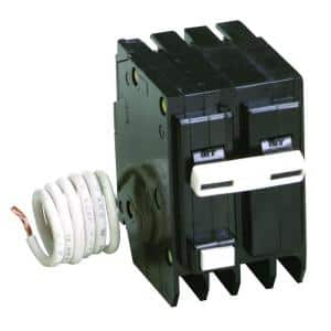 BR 20 Amp 2 Pole Self Test Ground Fault Circuit Breaker