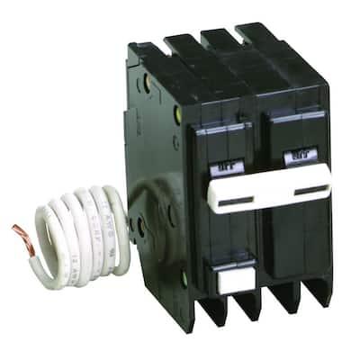 BR 20 Amp 2 Pole Self Test Ground Fault Circuit Breaker