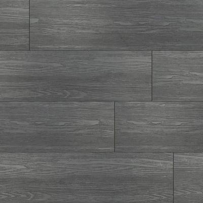 Bont Charcoal Oak 7 in. x 42 in. Rigid Core Luxury Vinyl Plank Flooring (20.8 sq. ft. / case)