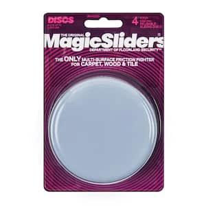 4 in. Round Magic Sliders (4-Pack)