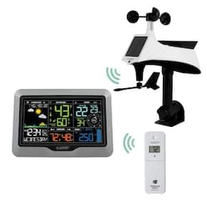 La Crosse View Wi-Fi Professional Weather Center with Combo Wind/Rain Sensor and Remote Monitoring