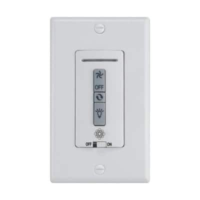 Wall Control Switch, White