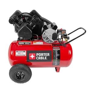 20 Gal. Horizontal Portable Air Compressor