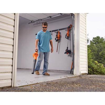 22 in. 20V Max Cordless Hedge Trimmer with (2) 1.5Ah Batteries and Charger with Bonus Blower Kit Included