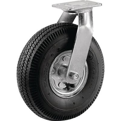 8 in. Pneumatic Wheel Medium Duty Swivel Caster