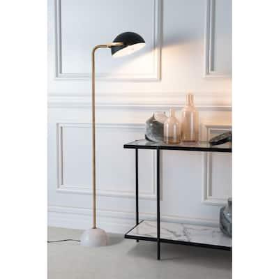 Irving 60.6 in. Black Floor Lamp