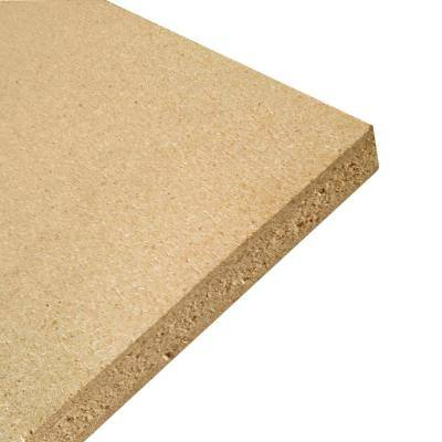 Common: 5/8 in. x 2 ft. x 4 ft., Actual: 0.609 in. x 23.75 in. x 47.75 in. Particle Board