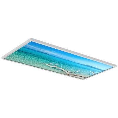 2 x 4 Fluorescent Light Filters Beach 002