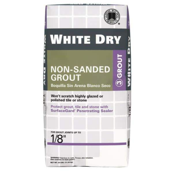 White Dry 5 Lbs Non Sanded Grout Wdg5