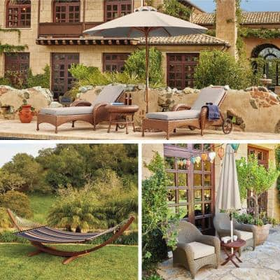 80 in. L x 26 in. W x 3 in. T Montlake Antique Beige Outdoor Chaise Lounge Cushion
