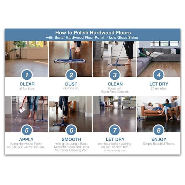 Bona 32 Oz Low Gloss Hardwood Floor