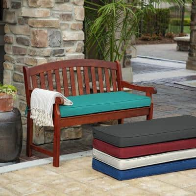 ProFoam Surf Acrylic Rectangle Outdoor Bench Cushion