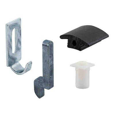 Sliding Screen Door Strike, Guide and Adjustment Kit, Anjac