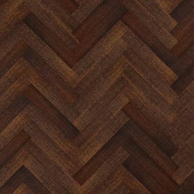 HandScraped Strand Woven Herringbone 3/8in.Tx4-3/4in.Wx23-5/8 in. L Eng. T&G Bamboo Flooring (15.49 sq. ft./ case)