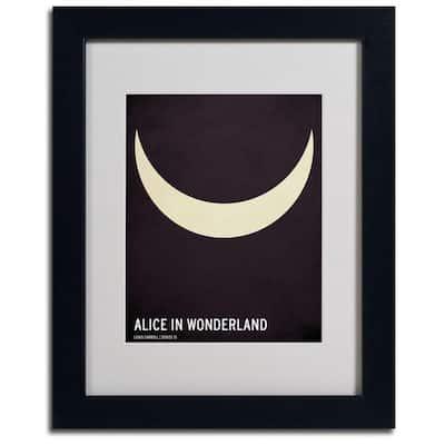 11 in. x 14 in. Alice in Wonderland Canvas Art