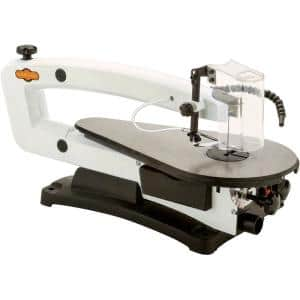 18 in. VS Scroll Saw with LED and Rotary Tool Kit