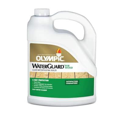 WaterGuard 1 gal. Clear Exterior Wood Sealer